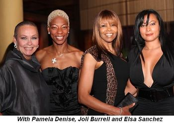 Blog 7 - With Pamela Denise, Joli Burrell and Elsa Sanchez