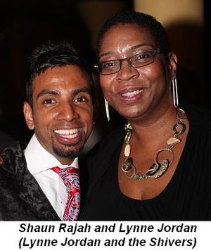 Blog 11 - Shaun Rajah and Lynne Jordan (Lynne Jordan & the Shivers)