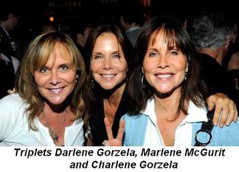 Blog 4 - Triplets Darlene Gorzelo, Marlene McGurit and Charlene Gorzela