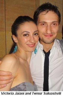 Blog 4 - Victoria Jaiani and Temur Suluashvili