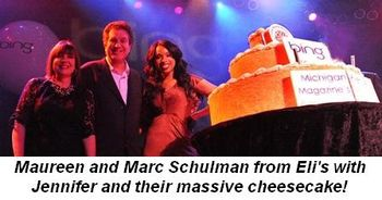 Blog 3 - Maureen and Marc Schulman from Eli's with Jennifer