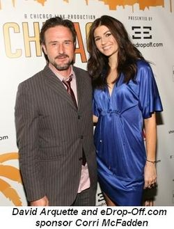 David Arquette and Corri McFadden