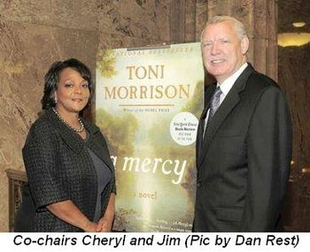 Blog 9 - Co-Chairs Jim Tyree and Cheryl Mayberry McKissack (Pic by Dan Rest)