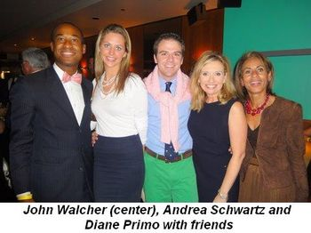 Blog 4 - John Walcher (middle), Andrea Schwartz and Diane Primo and friends