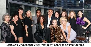 "Blog 1 - --""Inspiring Chicagoans 2010"" with event sponsor Charles Ifergan"