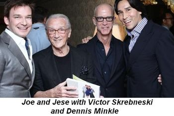 Blog 6 - Joe, Victor Skrebneski, Dennis Minkle and Jesse