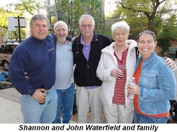 Blog 3 - Shannon and John Waterfield and family