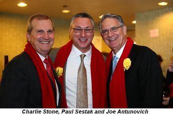 Blog 10 - Charlie Stone, Paul Sestak and Joe Antunovich