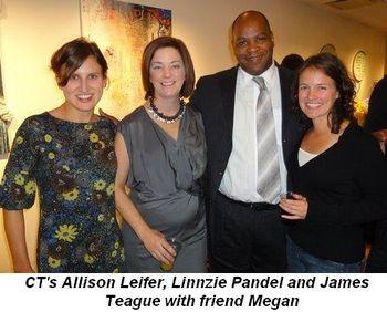 Blog 2 - CT's Allison Leifer, Linnzie Pandel and James Teague with friend Megan