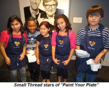 Blog 5 - Small Thread stars of Paint Your Plate