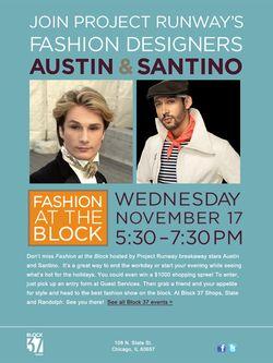 Austin and Santino at Block37