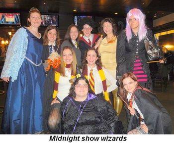 Blog 7 - Midnight show Wizards
