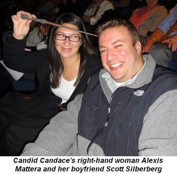 Blog 3 - Candid Candace's right-hand woman Alexis Mattera and her boyfriend Scott Silberberg