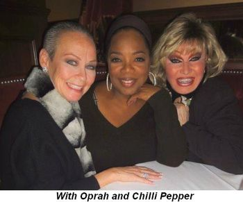 Blog 3 - With Oprah and Chilli Pepper