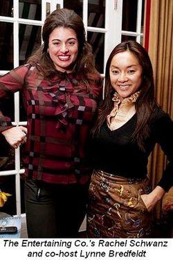 Blog 6 - Entertaining Co.'s Rachel Schwanz and co-host Lynne Bredfeldt