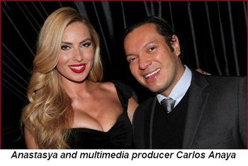 Blog 1 - Anastasya and multimedia producer Carlos Anaya