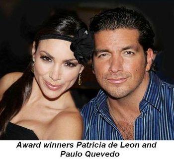 Blog 2 - Award winners Patricia de Leon and Paulo Quevedo