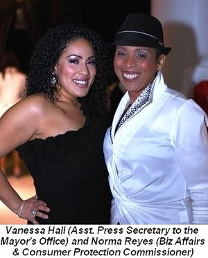 Blog 5 - Vanessa Hall (Assistant Press Secretary to Mayor's Office) and Norma Reyes (Business Affairs and Consumer Protection Commissioner)