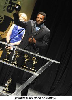 Blog 1 - Marcus Riley wins an Emmy!