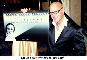 Blog 1 - Steve Starr with his latest book