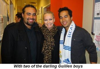 Blog 4 - With two of the darling Guillen boys