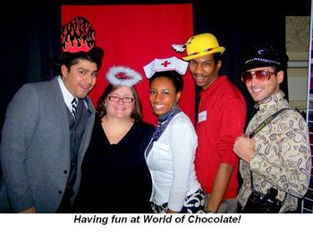 Blog 12 - Having fun at World of Chocolate!