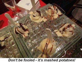 Blog - Don't be fooled—it's mashed potatoes!