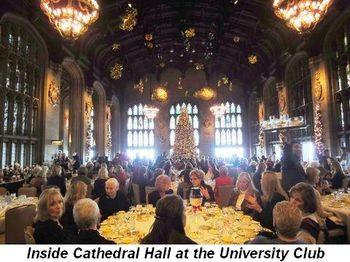 Blog 7 - Inside the University Club