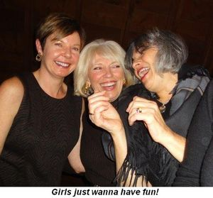 Blog 4 - Girls just wanna have fun!