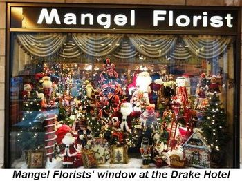 Blog 1 - Mangel Florists' window at the Drake Hotel
