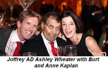 Blog 3 - Joffrey AD Ashley Wheater with Burt and Anne Kaplan