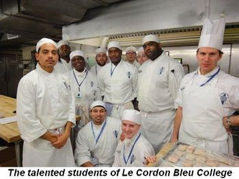 Blog 5 - The talented students of Le Cordon Bleu College