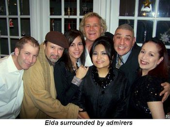 Blog 1 - Elda surrounded by admirers