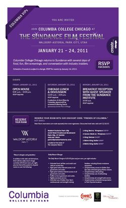 Sundance Invite