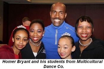 Blog 3 - Homer Bryant and his students from Multicultural Dance Co.