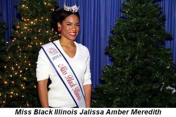 Blog 5 - Miss Black Illinois, Jalissa Amber Meredith