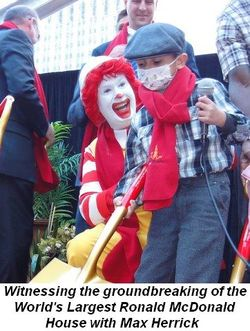 Blog 2 - Witnessing the groundbreaking for the World's Largest Ronald McDonald House with Max Herrick