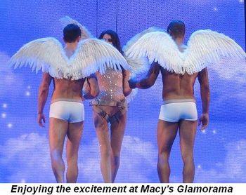 Blog 6 - Enjoying the excitement of Macy's Glamorama