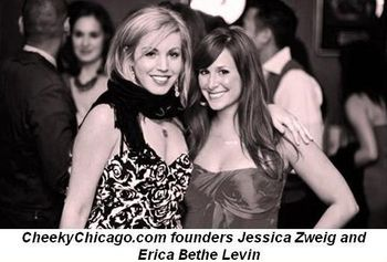Blog 2 - CheekyChicago.com founders Jessica Zweig and Erica Bethe Levin