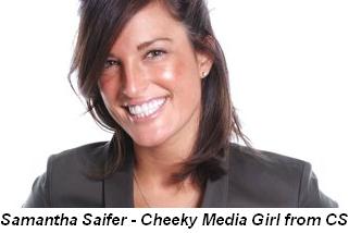 Blog 5 - Samantha Saifer—Cheeky Media Girl from CS Magazine
