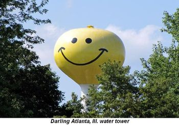 Blog 2 - Darling Atlanta, Ill., water tower