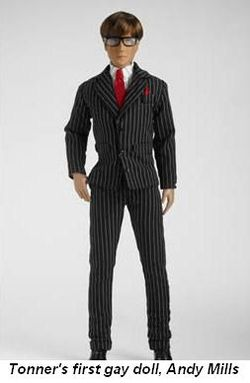 Blog 1 - Tonner Co.'s first gay doll, Andy Mills