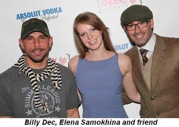Blog 7 - Billy Dec, Elena Samokhina and friend
