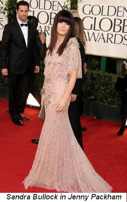 Blog 13 - Sandra Bullock in Jenny Packham
