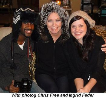 Blog 1 - With photog Chris Free and Ingrid Feder