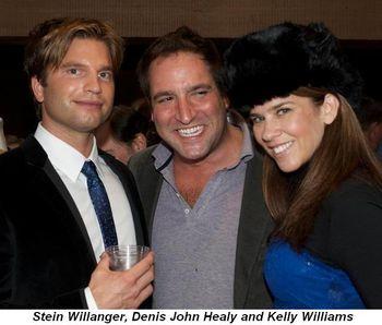Blog 2 - Stein Willanger, Denis John Healy and Kelly Williams