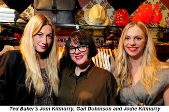 Blog 2 - Ted Baker's Joni Kilmurry, Gail Dobinson and Jodie Kilmurry