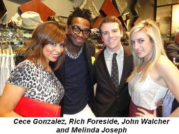 Blog 5 - Cece Gonzalez, Rich Foreside, John Walcher and Melinda Joseph