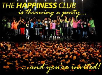 Blog 1 - Happiness Club invite