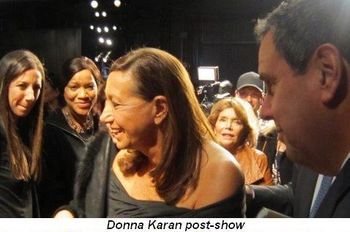 Blog 11 - Donna Karan post show